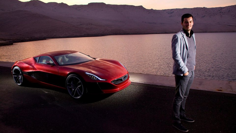 Mate Rimac Concept One