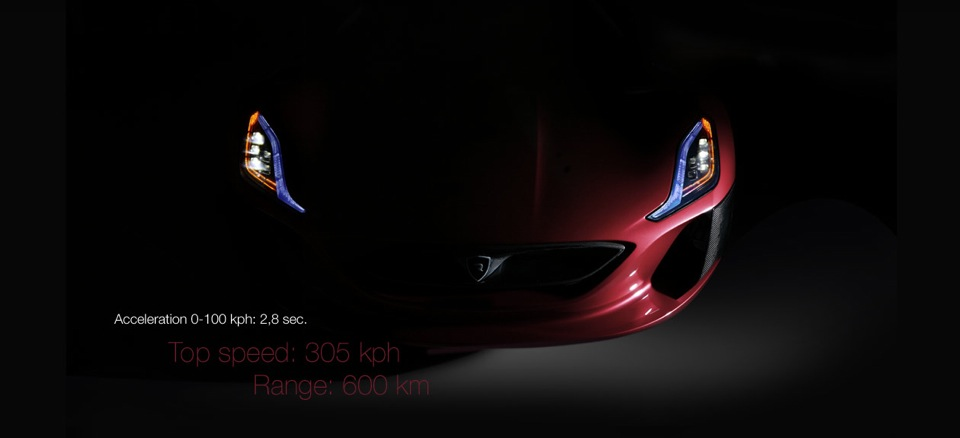 Rimac Concept One info