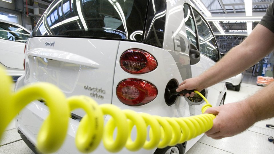 The production of the Smart Electric Drive has been launched