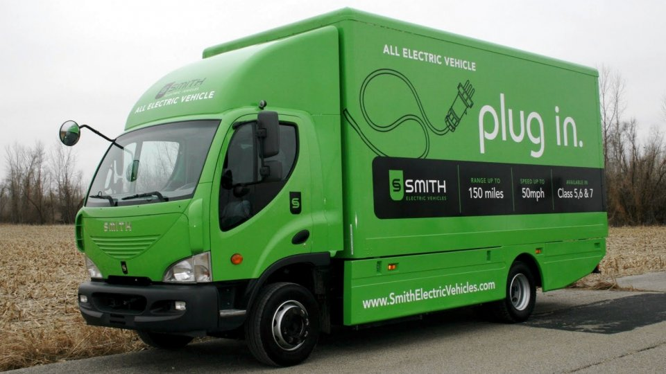 Smith Electric vehicles Newton